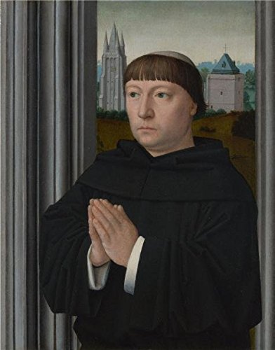 Praying Mantis Costume For Sale (The Perfect Effect Canvas Of Oil Painting 'Gerard David-An Augustinian Friar - Praying,1515' ,size: 24x31 Inch / 61x78 Cm ,this Replica Art DecorativePrints On Canvas Is Fit For Hallway Artwork And Home Decor And Gifts)
