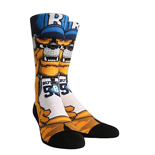 NCAA Super Premium College Fan Socks (L/XL, Butler Bulldogs - Mascot Blue) (Butler Basketball Shorts)