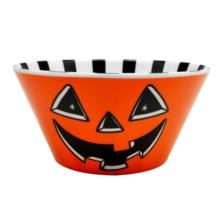 Large Halloween Candy Bowl Trick or