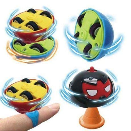 Wonder Gears Battle Gyro Spinning Top Car Spinning Toy (Random Colors)