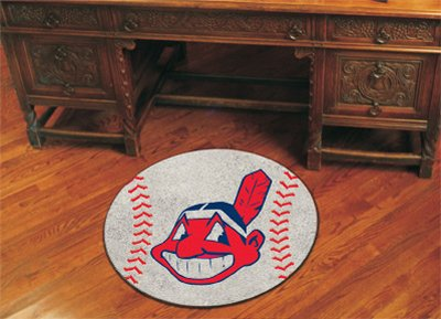 Cleveland Indians Baseball Rug (Cleveland Indians Mlb Floor Mats)
