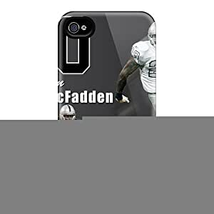 New Arrival Premium 4/4s Case Cover For Iphone (oakland Raiders)