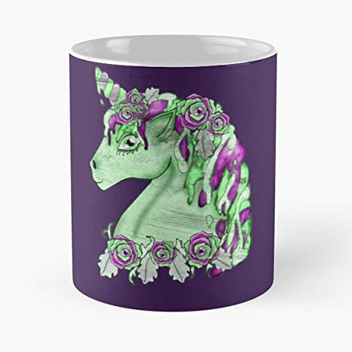 Horse Zombie Undead Funny Christmas Day Mug Gifts Ideas For Mom - Great Ceramic Coffee Tea Cup -