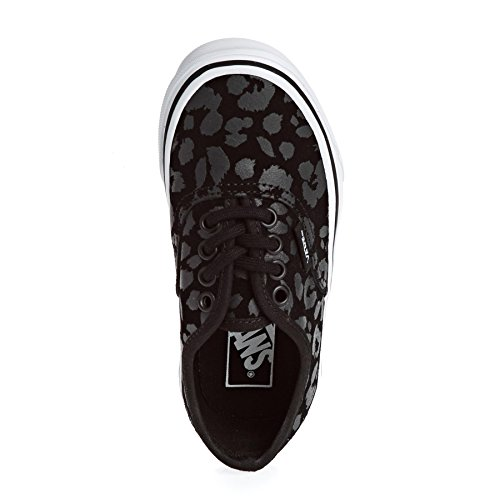 Vans Kinder Sneaker Authentic Sneakers Jungen Leopard Suede Black