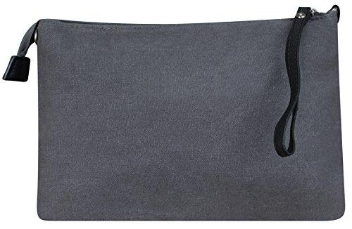 bag Stern Star Strass hand by fabric canvas shopper Women's Dunkelgrau Totenkopf luxury wnt81axq4E