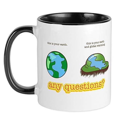 CafePress Global Warming Mug Unique Coffee Mug, Coffee Cup