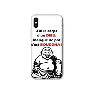 coque iphone x bouddha