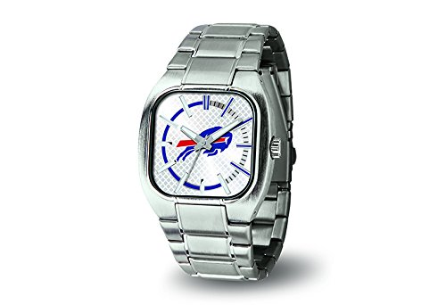Nfl Football Watches Buffalo Bills (NFL Buffalo Bills Turbo Watch, Silver)