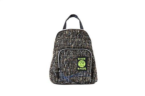 Club Kid Mini Backpack - Knapsack w/Smell Proof Pouch & Secret Pocket (Concrete) (Mini Concrete)