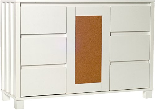 Comfort Products 50-CORK2001 Cork Collection Console Shelf, White