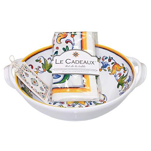 Le Cadeaux Capri Melamine 9.25