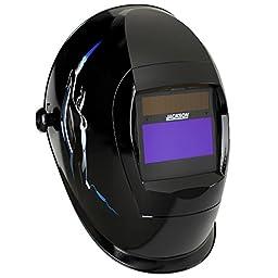 Jackson Safety SmarTIGer Variable Auto Darkening (ADF) Welding Helmet with Balder Technology (37187), W40, Torch Dancer