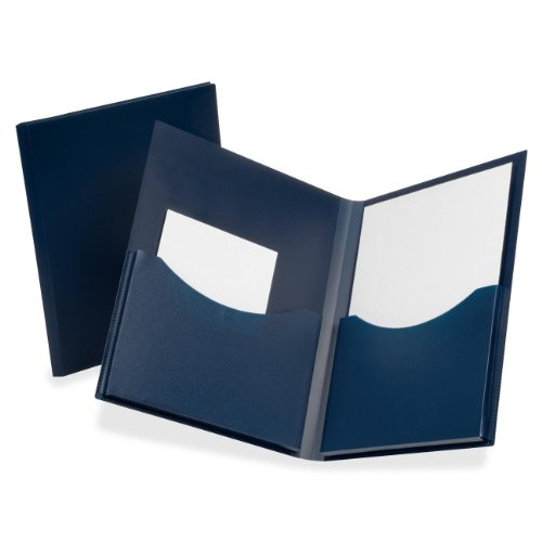 Gusseted Folder (ESS57455 - Oxford Poly Double Stuff Gusseted 2-Pocket Folder)