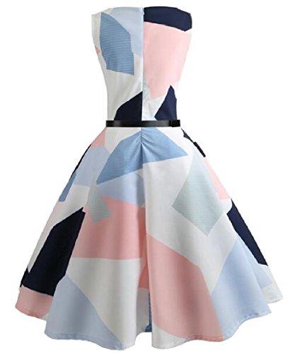 Coolred-femmes Des Années 1950 Vintage Audrey Hepburn Grande Robe De Mariée Ourlet Image