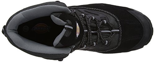 Dickies Dalton Boot - Calzado de protección para hombre, color Black, talla 39.5 Black