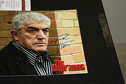 Frank Vincent Autographed Signed 8x10 Photo From Sopranos JSA Authentic Casino Goodfellas from Sports Collectibles Online