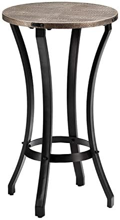 SEI Libson Round Accent Table - the best living room table for the money