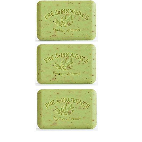 (Three (3) Pre de Provence 250 gram Shea Butter Soaps - Lime Zest)