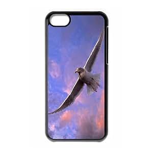 XiFu*Meiiphone 4/4s Case, Girly Protective High Flying Seagul Case for iphone 4/4sXiFu*Mei