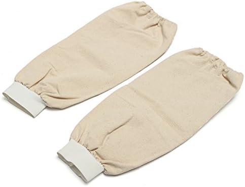 Queenwind 溶接の腕の袖は熱保護切られる抵抗力がある溶接の保護袖を編む