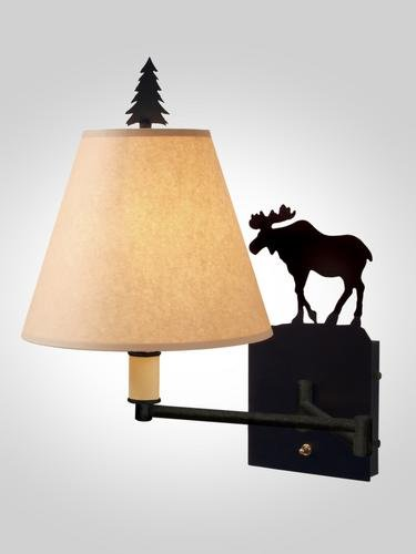Moose Single Swing Arm Sconce ()
