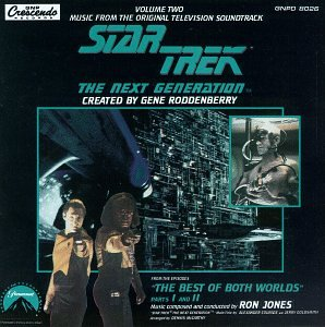 Price comparison product image Star Trek - The Next Generation: Music From The Original Television Soundtrack, Volume Two (The Best Of Both Worlds)
