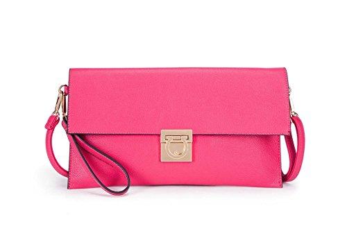 Plum Yasmin Femme Enveloppe Ys046 Bags Rose Pochette TxYa4