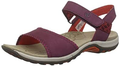 Amazon.com | Merrell Women's Hibiscus Sandal, Port, 11 M US | Sport