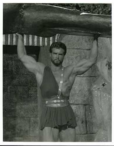 "Steve Reeves 8x10"" Photo Sexy Barechested Hercules for sale  Delivered anywhere in USA"