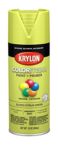 Krylon K05512007 COLORmaxx Spray Paint, Aerosol, Citrus -