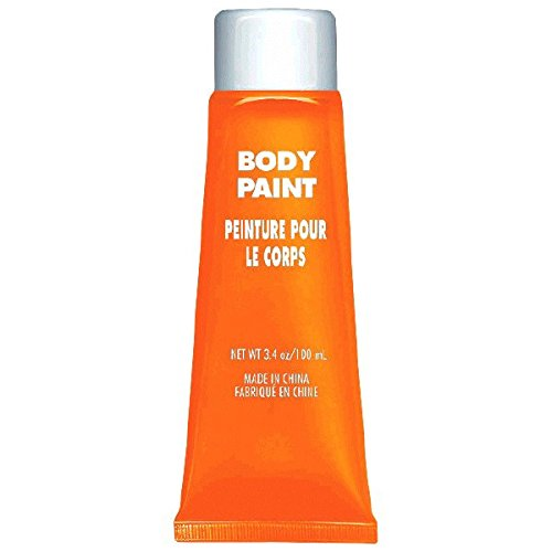 Orange Body Paint, Party Accessory -