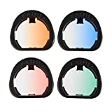 CAIUL Compatible Mini 90 Gradient Color Filters Set for Fujifilm Instax Mini 90 Camera (4 Colors)