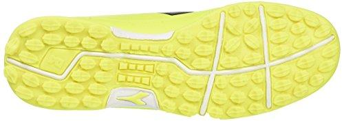 Diadora 650 Iii Tf, para los Zapatos de Entrenamiento de Fútbol para Hombre Amarillo (Giallo Fluo/nero)