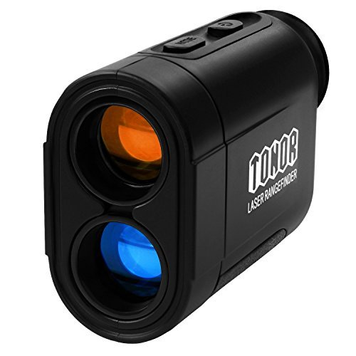 TONOR 650 Yards Golf Range Finder for Hunting Fishing Rangefinder Black