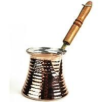 'CopperGarden' Pote de café turco de cobre estañado