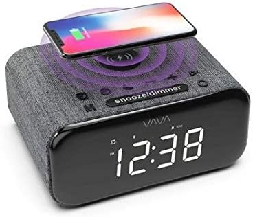 VAVA VOOM 100 (VA-SK100) 100-in-10 Bluetooth Speaker, Wireless Charger