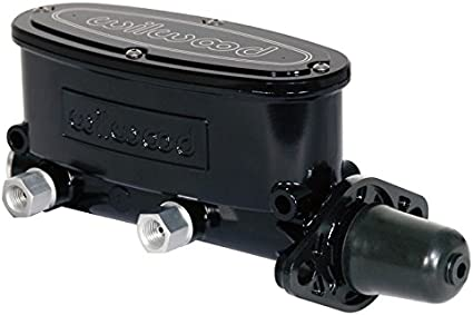 SOUTHWEST SPEED DUAL OUTLET NEW WILWOOD BLACK ALUMINUM TANDEM CHAMBER MASTER CYLINDER 7//8 BORE