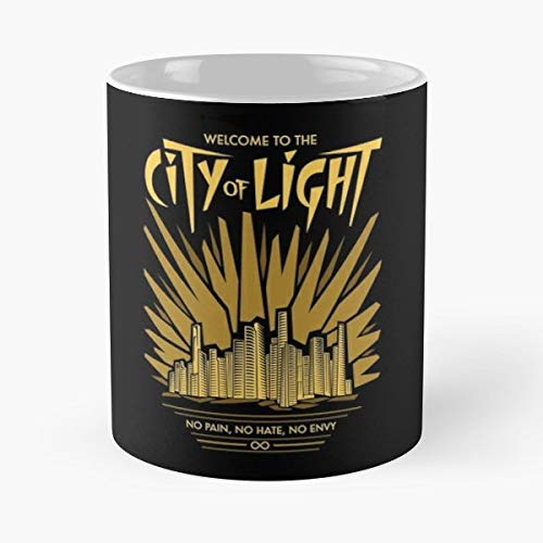 City Of Light Alie Clarke - Ceramic Mugs ()