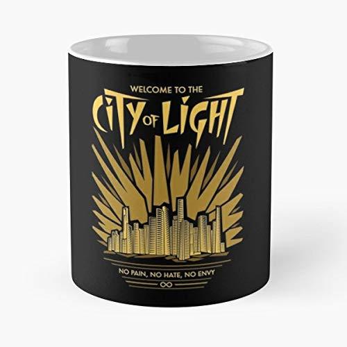 City Of Light Alie Clarke - Ceramic Mugs