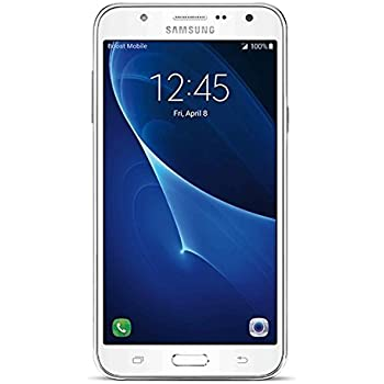 Samsung Galaxy J7 - No Contract Phone - White - (Works with Virgin Mobile Service Only)