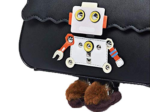 Cadena Oxygengreen De Hombro Robot Remaches Mensajero Bolso Modelado YC6q8w0