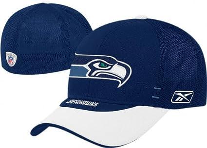 Amazon.com   Reebok Seattle Seahawks 2007 NFL Draft Hat   Sports ... 6c454fd81e2