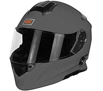 Origine Helmets - Casco de moto - Modelo Origine Delta Solid Matt Titanium - Casco abatible