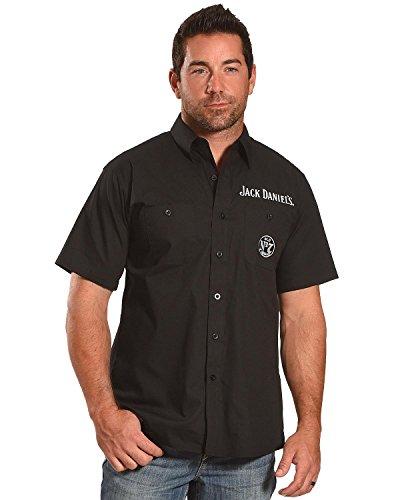 Jack Daniels Men's Daniel's Shop Shirt Black Medium]()