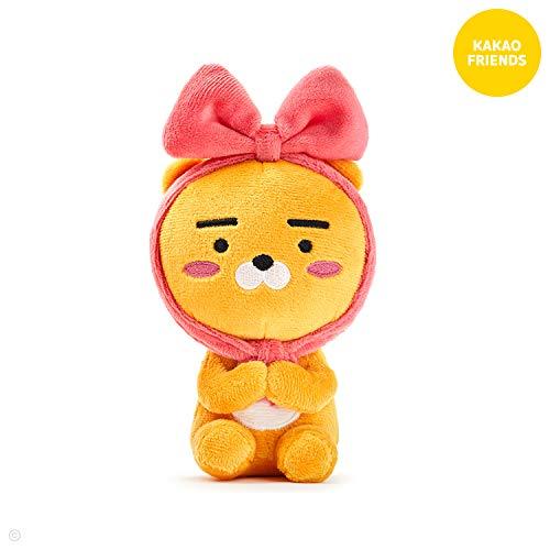Doll Plush Small (KAKAO FRIENDS Official- Ribbon Mini Plush Doll (Ryan))