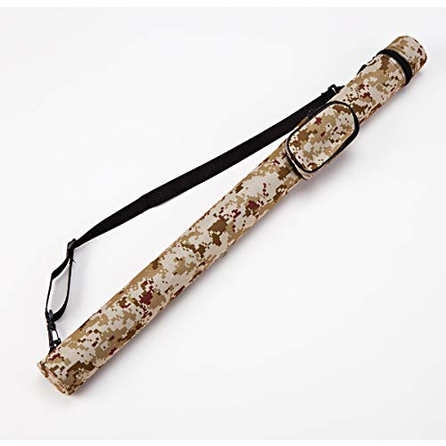 Collapsar 11 Hard Pool Cue Billiard Stick Camo Carrying Case -1B1S Camo Nylon Cases (Available in 5 Colors) (C001014)