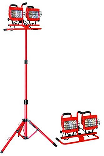 Bayco SL-1006 Professional 1,000-Watt Halogen Light Tower