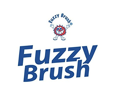 FUZZY BRUSH CHEWABLE TOOTHBRUSHES 20pcs Set - No Toothpaste