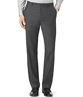 Calvin Klein Men's Straight Fit Dress Pants