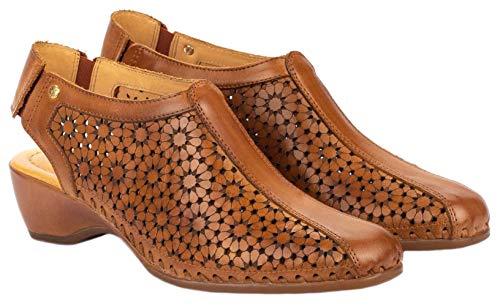 - PIKOLINOS Womens Romana W96-1746 Low Heel Sandals, Brandy, Size 41 EU (10.5-11 M US Women)